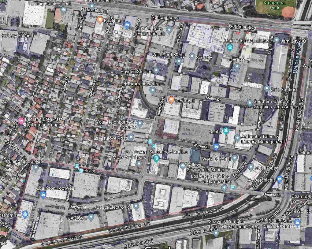 Hayden Tract Satellite View 2