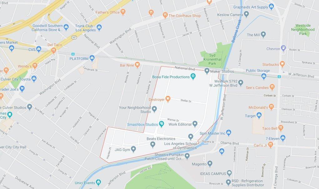 Hayden Tract Street Map