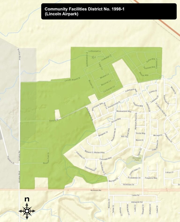 Lincoln Airpark CFD Boundaries