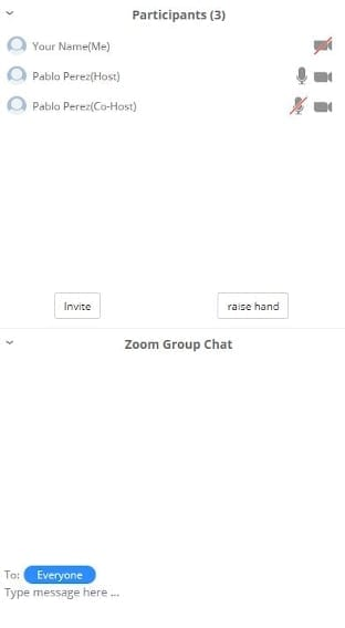 Zoom Join From Browser Participants and Chat - 6